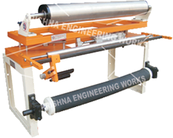 Single Roller Assembly SRA with Web Guiding System